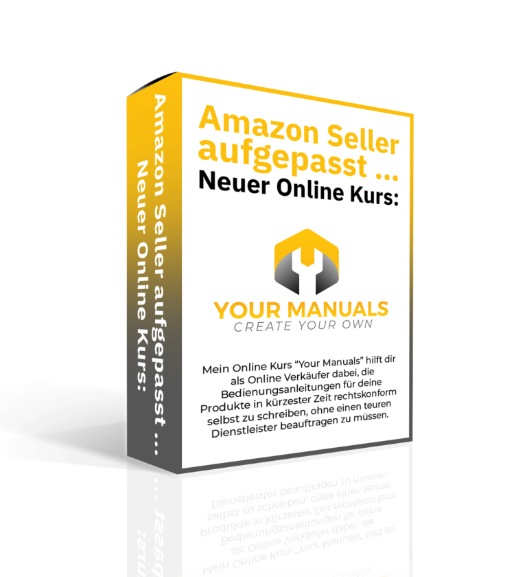Online Kurs Your Manuals für Amazon FBA Seller