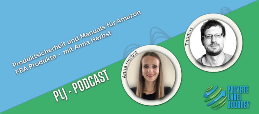 Anna Herbst zu Gast beim Private Label Podcast für Amazon FBA Seller